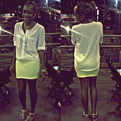 Myself look neon :D
