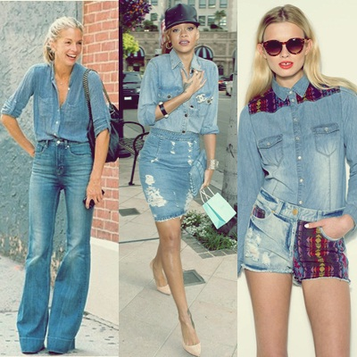 Jeans sobre jeans