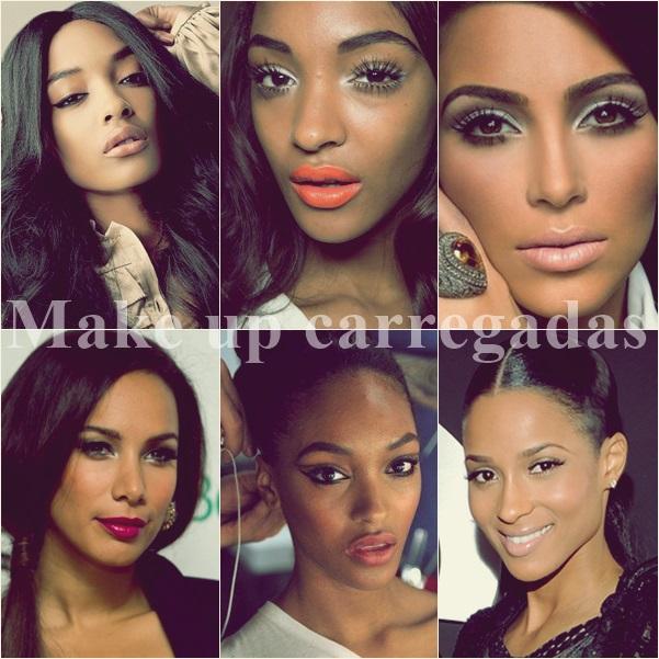Dica Carregada: Make Up
