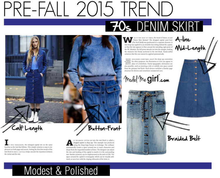 Pre-Fall-2015-Trend-70s-Denim-Skirt-Model-Me-Girl